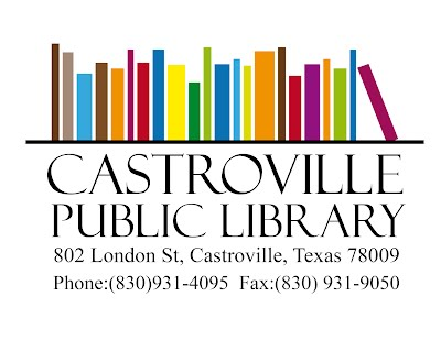 Enter the Castroville Public Library's New Website!